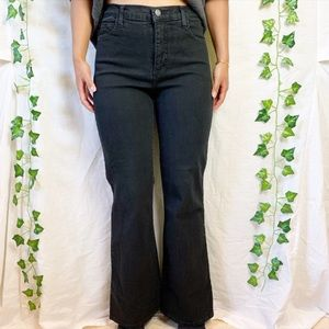 NOT YOUR DAUGHTER'S JEANS Highwaisted Flare Jeans